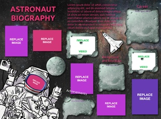 Astronaut biography