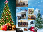We wish you Blessed Christmas and Happy New Year's thumbnail