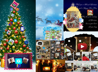 'Lucian wish a Blessed Christmas to GlogsterEDU Team , Deena and to all the friends' thumbnail