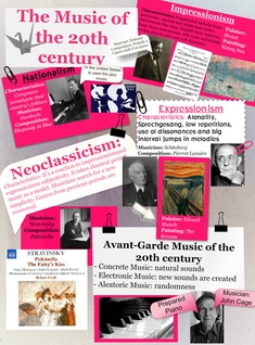 The music of the 20th century