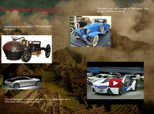 History of the cars