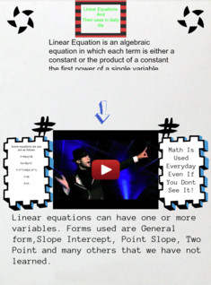 linear equations :)
