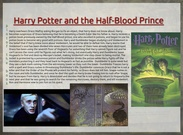 HArry Potter AND THE HALF BLOOD PRINCE-SETH ROWE's thumbnail