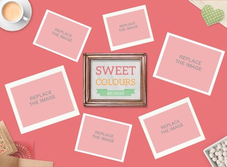 Sweet Colours Mood Board
