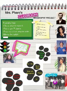 Mrs. Pharo's Class Biography Project