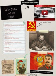 Josef Stalin and the USSR