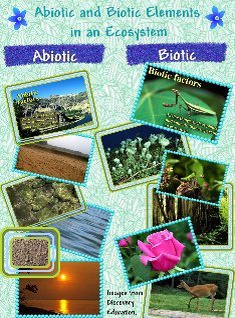 abiotic and biotic