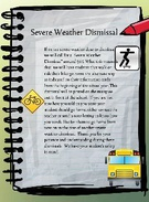 Severe Weather Dismissal's thumbnail
