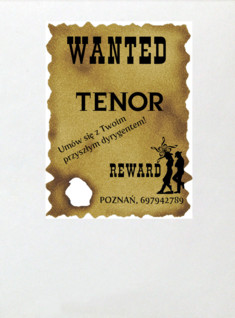 New GlogTenor wanted