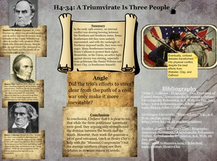 H4-34: A Triumvirate Is Three People