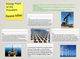 Energy Plans of the President