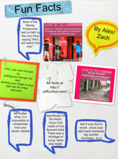 Fun Facts by Alex and Zach