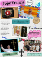 Pope Francis Glogster's thumbnail