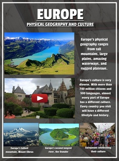 Europe - Physical Geography and Culture
