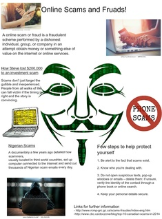 Online Scams and Frauds