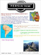 Honors World History: Incas's thumbnail