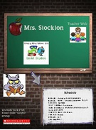 Mrs. Stockton - Welcome Page's thumbnail