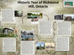 Historic Tour of Richmond Hill, Ontario thumbnail