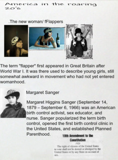 The changing roles of women