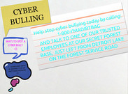 CYBER BULLYING HOTLINE  6A's thumbnail