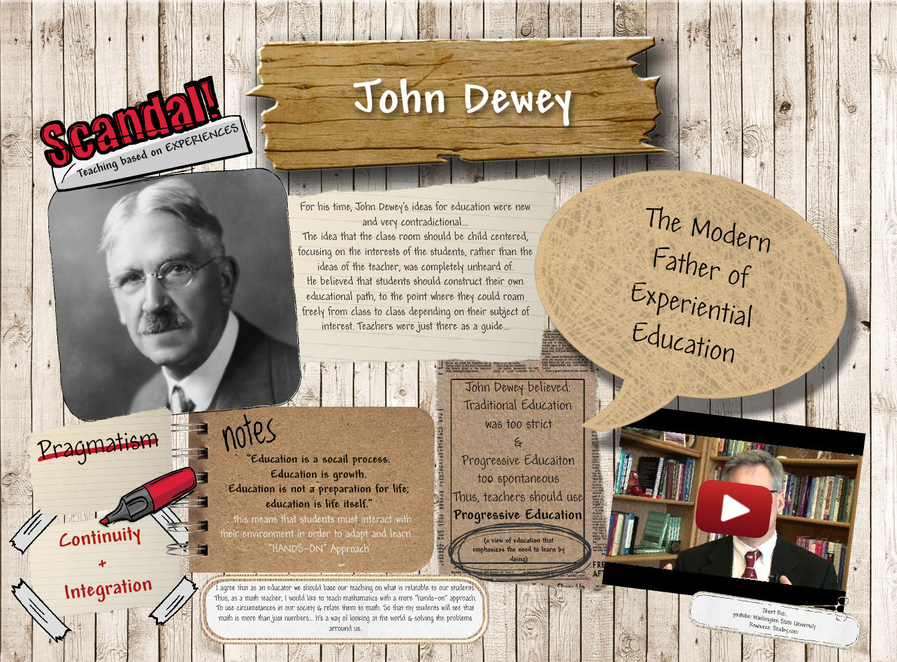 [2016] Carissa Brown: John Dewey