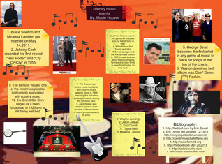 Country music events