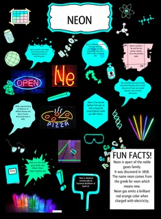 Show what you know: NEON