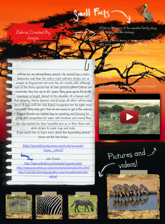 Zebra Facts And Information