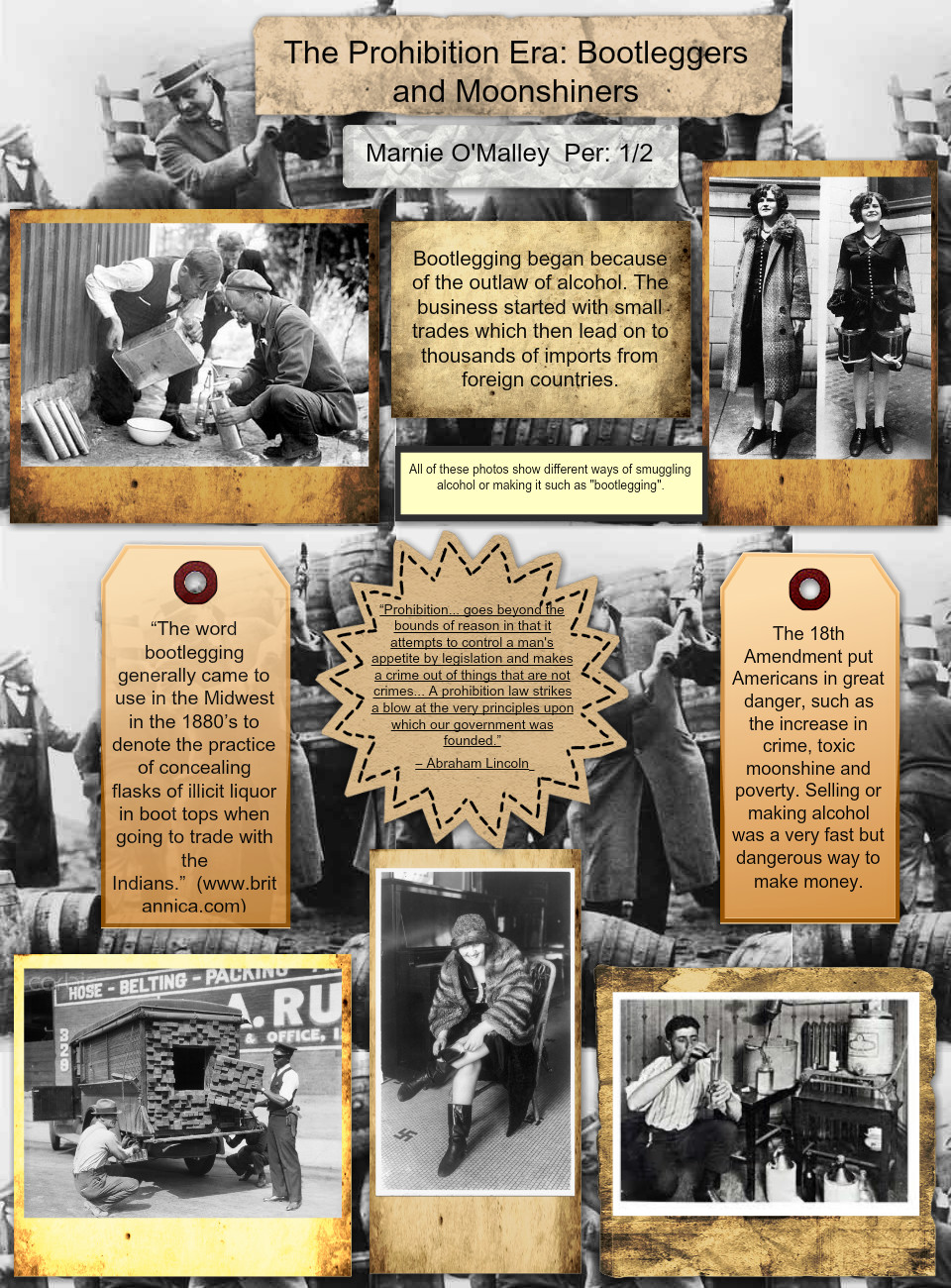 The Prohibition Era: Bootleggers and Moonshiners