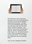 Download Zero Belly Diet: Lose Up to 16 lbs. in 14 Days! by David Zinczenko epub txt mobi djvu's thumbnail