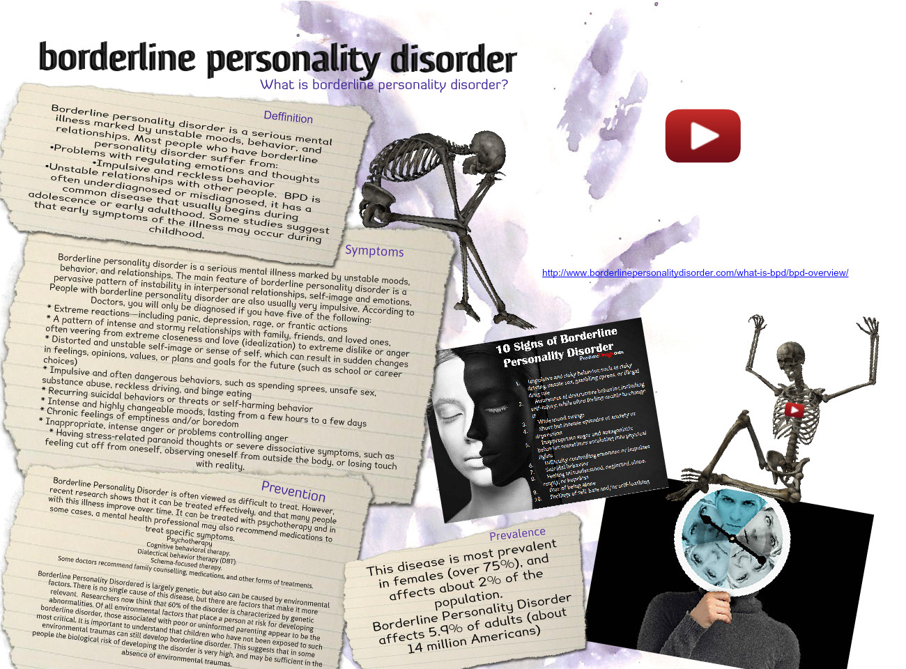 early signs of borderline personality