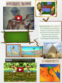 Ancient Egypt Grade 4 sample project