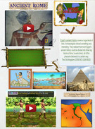 Ancient Egypt Grade 4 sample project' thumbnail