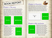 Book report - template's thumbnail
