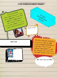 Reading Scrapbook Glogster Example