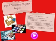 Digital Citizenship Glogster Project's thumbnail