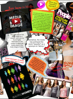 Body image and media.