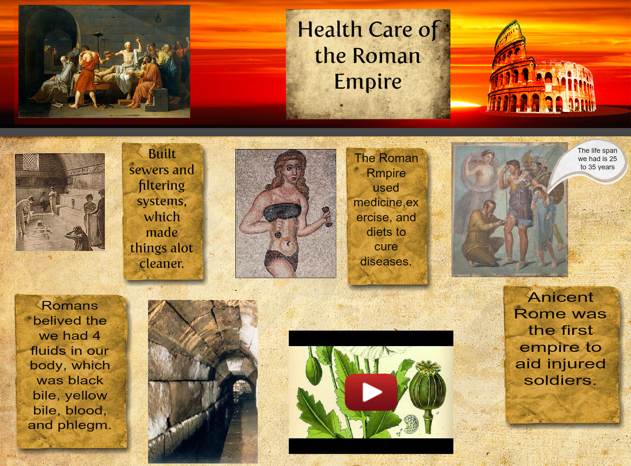 Health Care of the Roman Empire