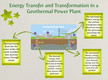 Energy Transfer and Transformation in a Geothermal Power Plant thumbnail