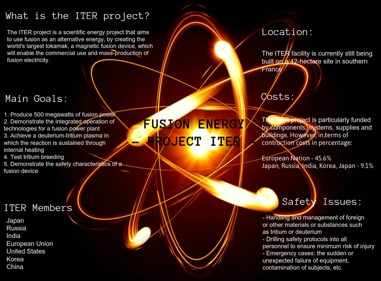Energy: Project ITER
