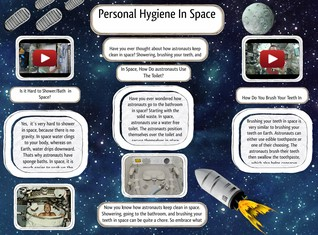 Personal Hygiene in Space