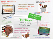 Mrs. Wright: If I had a pet turkey's thumbnail