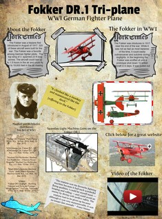 [2014] Michael Martins (MHMS students): Fokker DR.1