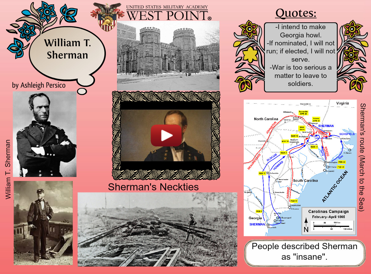 Civil Project- William T. Sherman