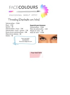 Threading - cartaz