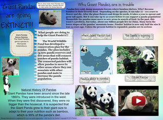 [2014] Science1: Giant Pandas are going EXTINCT!!!