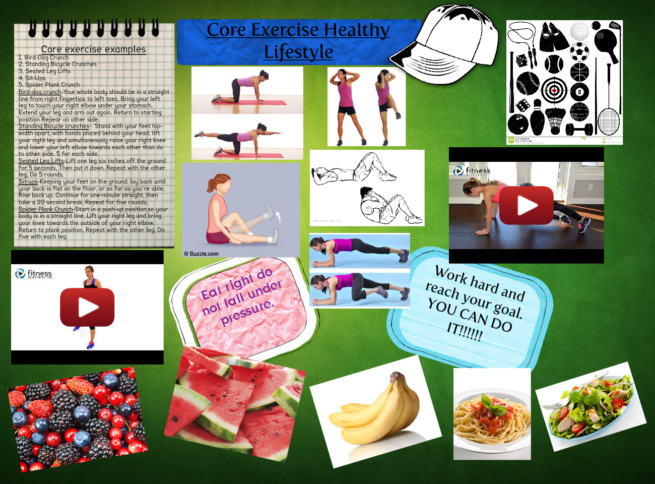 Core Exercise Healthy Lifestyle