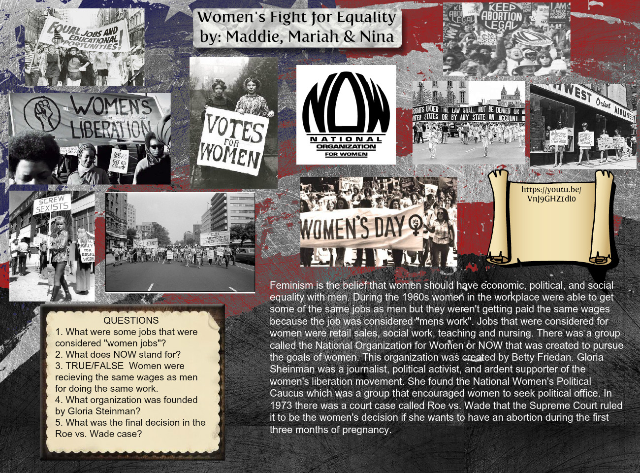 Women´s Fight for Equality