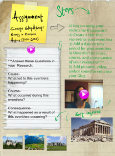 Events in European History 1000-2000,(Assignment),World & Ancient History