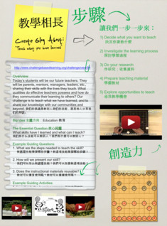 Teach what you have learned, (Assignment),Chinese